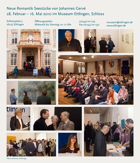 Vernissage Museum Ettlingen 2010, Schloss